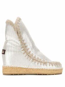 Mou metallic snow boots - Silver