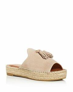 Andre Assous Women's Cameron Espadrille Platform Slide Sandals