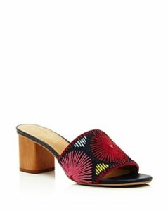 Jack Rogers Women's Bettina Leather Block-Heel Sandals