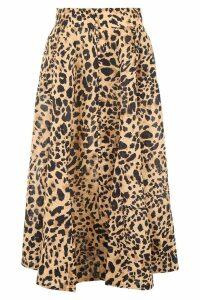 Zimmermann Leopard-printed Skirt