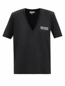 Asceno - Pleated Linen Poplin Shorts - Womens - Navy