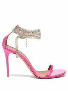 Zimmermann - Amari Paisley-print Cotton Wide-leg Trousers - Womens - Pink