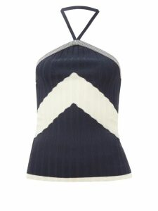 Three Graces London - Arlene Ramie-voile Maxi Skirt - Womens - Green