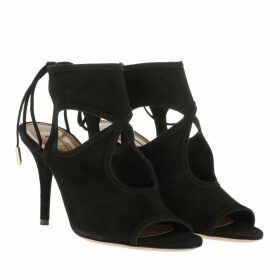 Aquazzura Sandals - Sexy Thing Sandals Leather Black - black - Sandals for ladies
