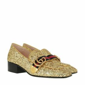 Gucci Pumps - T Crystal Glitter Pump Gold - gold - Pumps for ladies