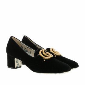 Gucci Pumps - GG Pumps Velvet Black - black - Pumps for ladies