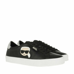 Karl Lagerfeld Sneakers - SKOOL Karl Plexikonic Lo Lace Black Leather - black - Sneakers for ladies