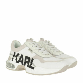 Karl Lagerfeld Sneakers - Ventura Lazare Logo Leather White - white - Sneakers for ladies