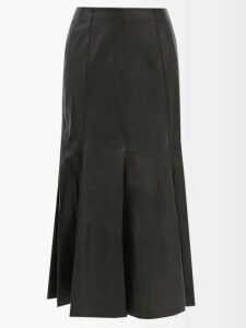 Gucci - Gg Pleated Technical Jersey Shorts - Womens - Light Blue
