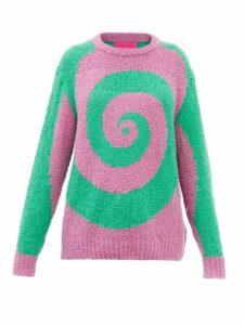 Gucci - GG Technical-jersey Hooded Dress - Womens - Beige Multi