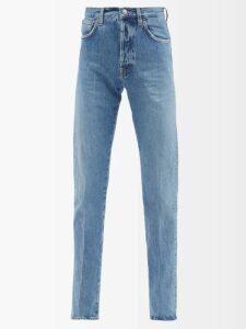 Ganni - Leopard Print Cotton Poplin Shirt - Womens - Leopard