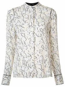 Proenza Schouler double vine print blouse - NEUTRALS