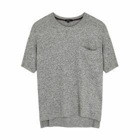 Rails Micah Grey Stretch-knit T-shirt