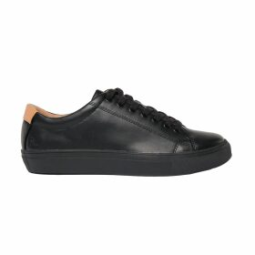 Riona Treacy - Brown Leather Skirt