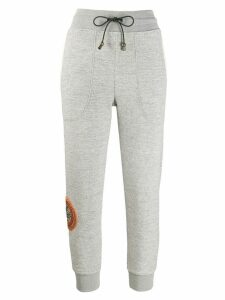 Mr & Mrs Italy embroidered sweatpants - Grey