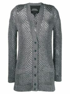 Marc Jacobs knitted cardigan coat - Grey