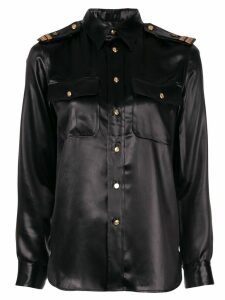 Ralph Lauren Collection high shine shirt - Black
