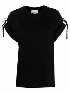 3.1 Phillip Lim tie detail T-shirt - Black