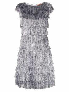 Missoni fringed dress - Silver