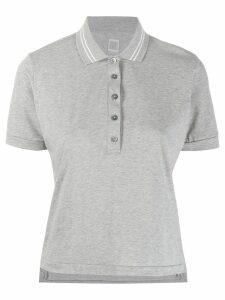Eleventy button polo shirt - Grey