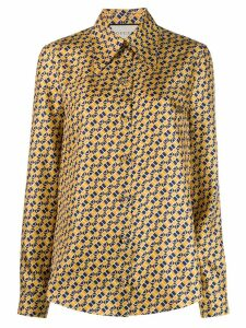 Gucci printed blouse - Yellow