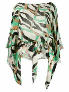 Roberto Cavalli all-over print blouse - Green