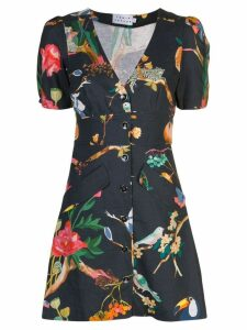 Tanya Taylor Jungle print dress - Blue