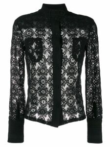Philosophy Di Lorenzo Serafini lace shirt - Black