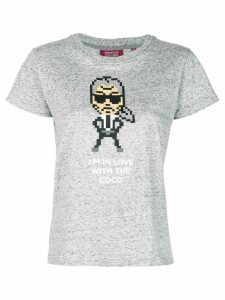 Mostly Heard Rarely Seen 8-Bit Coco T-shirt - Grey