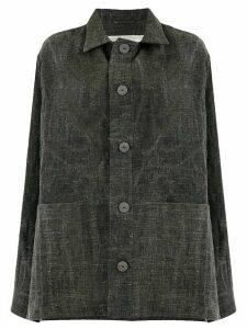 Toogood button shirt jacket - Grey