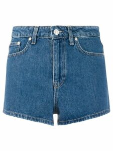 Chiara Ferragni mom fit shorts - Blue