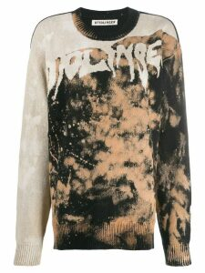 Ottolinger paint splatter sweater - Black