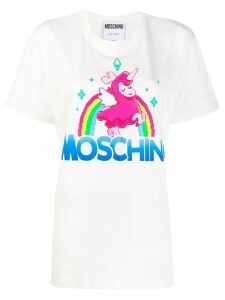 Moschino graphic print T-shirt - White
