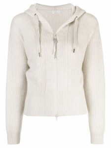 Brunello Cucinelli hooded sweater - Neutrals