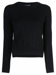 Rosetta Getty cropped split pullover - Black