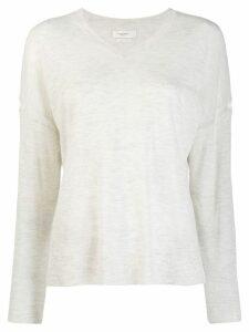 Isabel Marant Étoile classic v-neck pullover - NEUTRALS