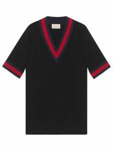 Gucci v-neck dress - Black