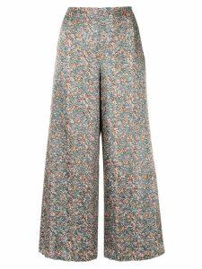 Muller Of Yoshiokubo Majorelle flare pants - Multicolour