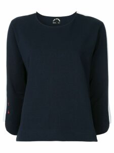 The Upside side stripe sweater - Blue