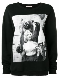 Christopher Kane Marilyn sweatshirt - Black