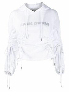 Each X Other hooded sweater - White