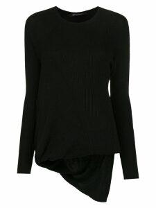 Uma Raquel Davidowicz Soma knitted top - Black