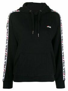 Fila logo tape hoodie - Black