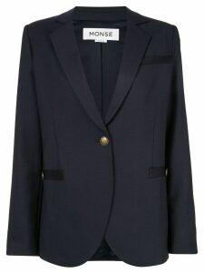 Monse Back rope jacket - Blue