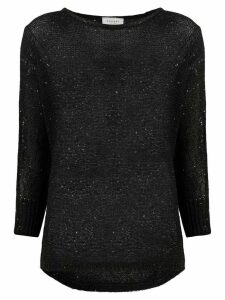Snobby Sheep embellished fine knit sweater - Black