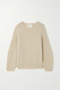 Valentino - Oversized Intarsia Wool Cardigan - Ivory
