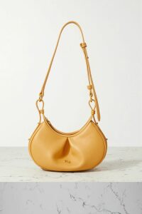 Mother of Pearl - + Net Sustain Dyllan Faux Pearl-embellished Frayed Organic Denim Shorts - Mid denim