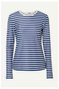 Cover - Striped Rash Guard - Navy