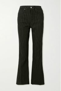 Etro - Pussy-bow Printed Silk Crepe De Chine Blouse - Coral
