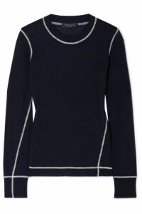 rag & bone - Shannon Wool Sweater - Navy